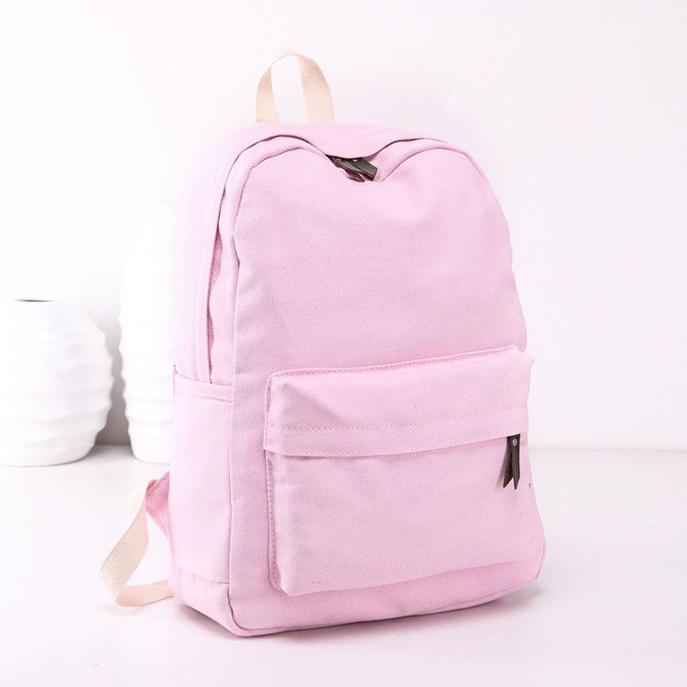 Neworldline Women Girls Canvas Preppy Shoulder Bookbags School ... 937a0ce7588cb