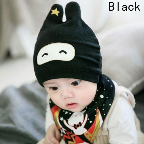 a8c67346719 Universal Toddler Boys Girls Baby Sleep Cap+Saliva Towel Child Head Scarf  Hat Set