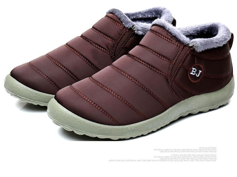 b1634cc8e Universal Gracosy Warm Snow Boots, Winter Warm Ankle Boots,Fur Lining  Boots,Waterproof Thickening Winter Shoes For Women Coffee