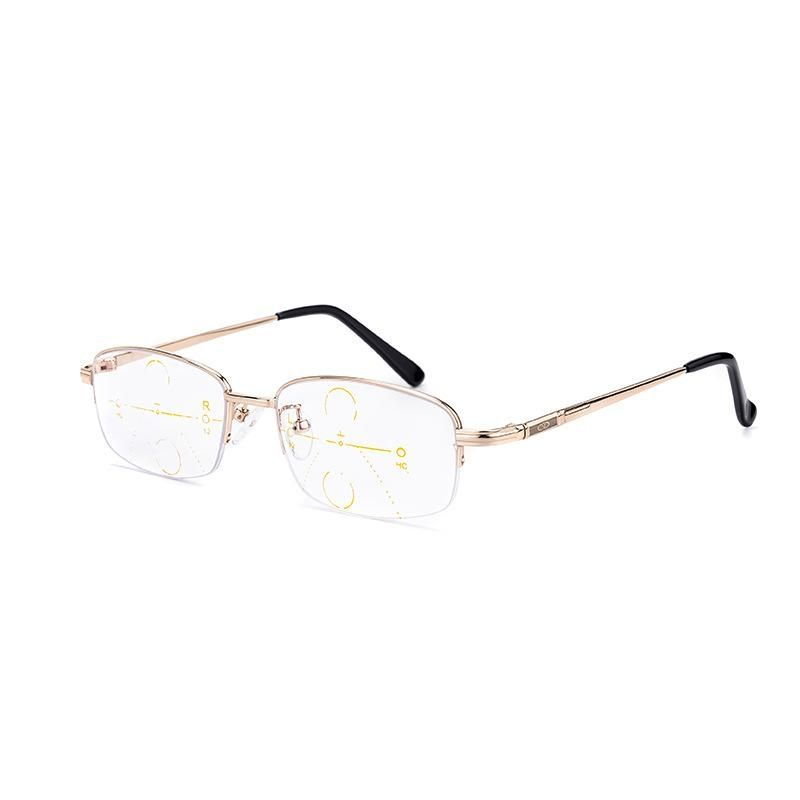 Fashion KCASA Intelligent Reading Glasses Progressive Multifocal Lens  Presbyopia Alloy Frame Anti Fatigue +2.0D 659752c0df2d