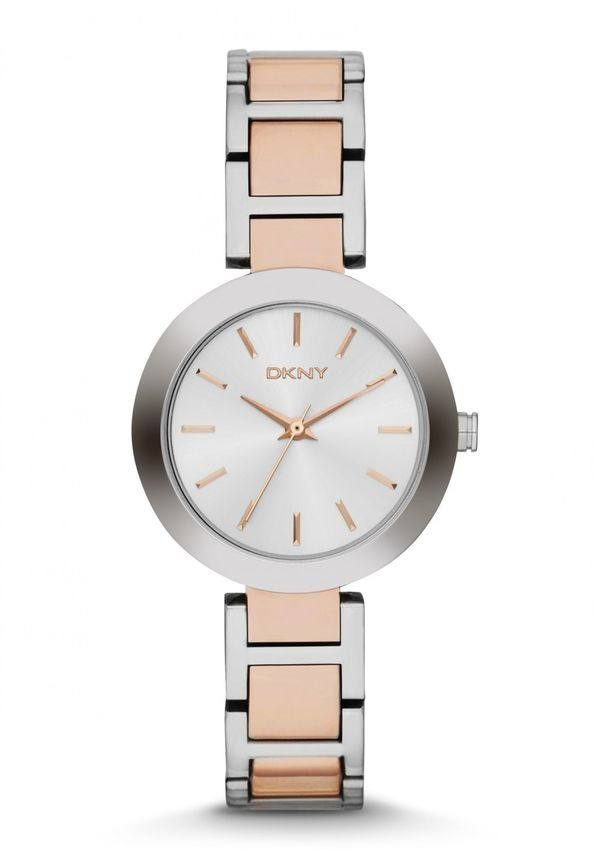 6be3d4ef1 سعر DKNY NY2402 Stainless Steel Watch - Rose Gold/Silver فى مصر ...