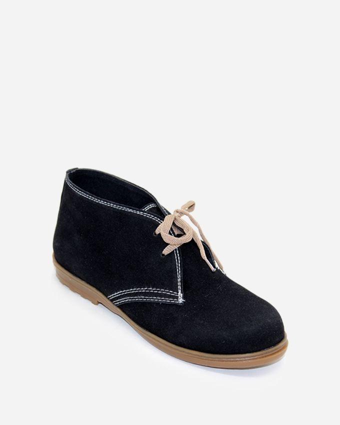 Tata Tio Desert High Neck Shoes - Black