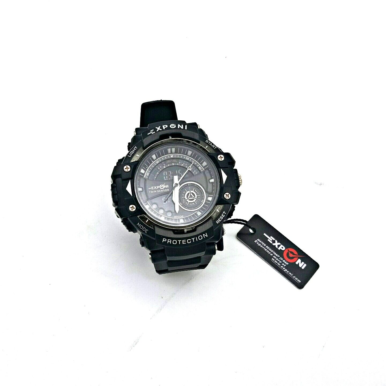 5a71f14db53a4 سعر Generic 3251 Resin Watch - Black فى مصر