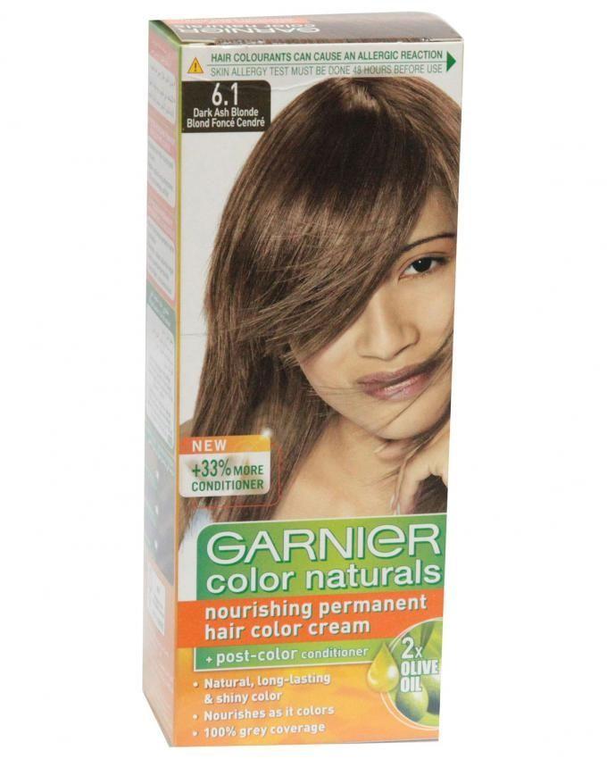 Garnier Color Naturals 61 Dark Ash Blonde 60ml 40g Hair
