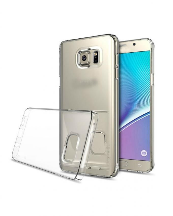 Generic Back Transparent Cover For Samsung Galaxy Note 5 ...