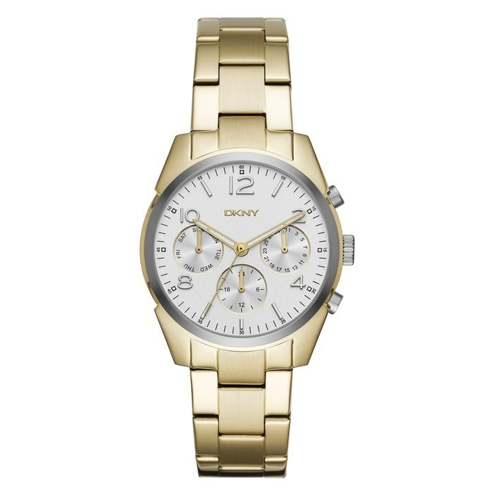 ca23f64d82a4a DKNY NY2471 Stainless Steel Watch - Gold