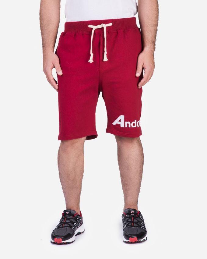 Andora Slip On Short - Dark Red