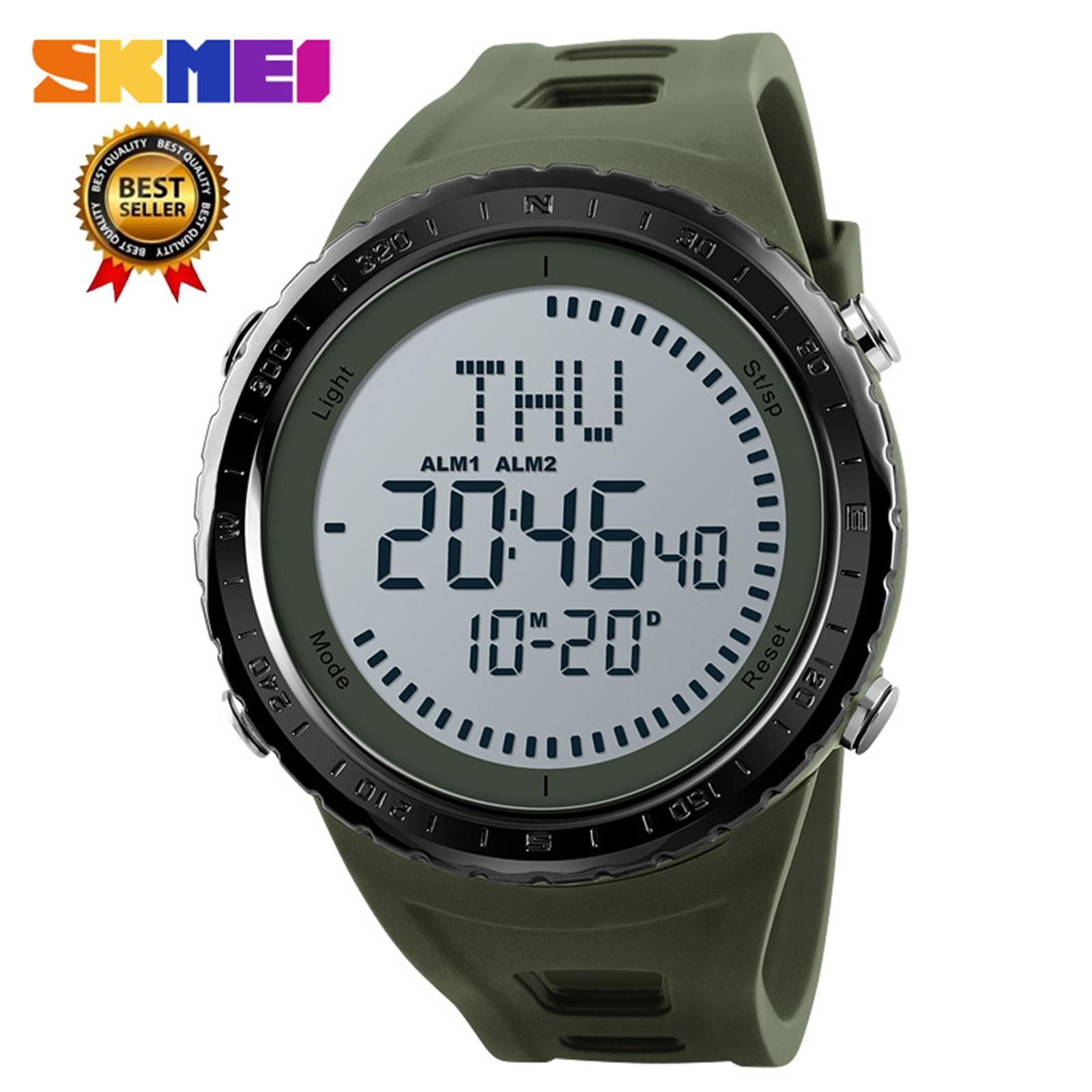 19b247764bb0e Skmei 2018 SKMEI NEW Compass Watch Men Sports Watches Outdoor Waterproof  Countdown Chronograph Digital Wristwatches Relogio Masculino 1342