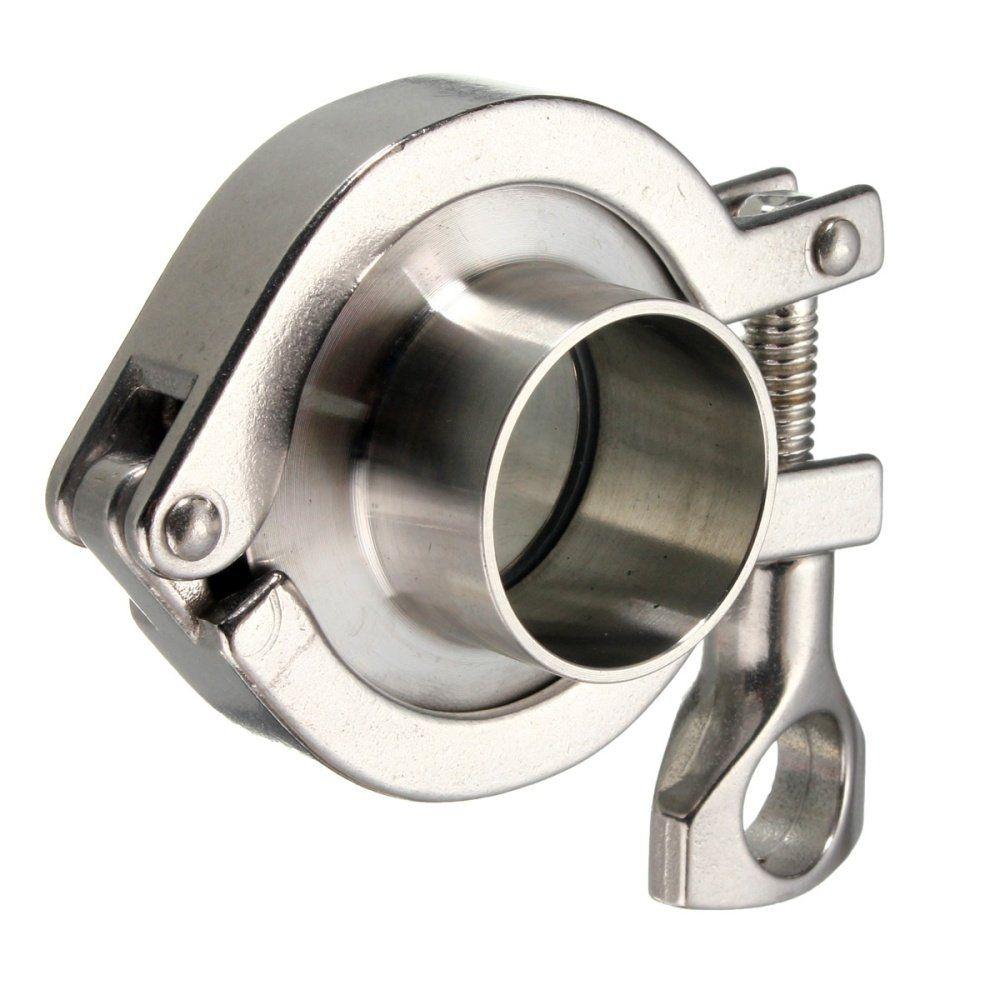 سعر Universal SS304 Sanitary Pipe Weld Ferrule Fitting + Tri