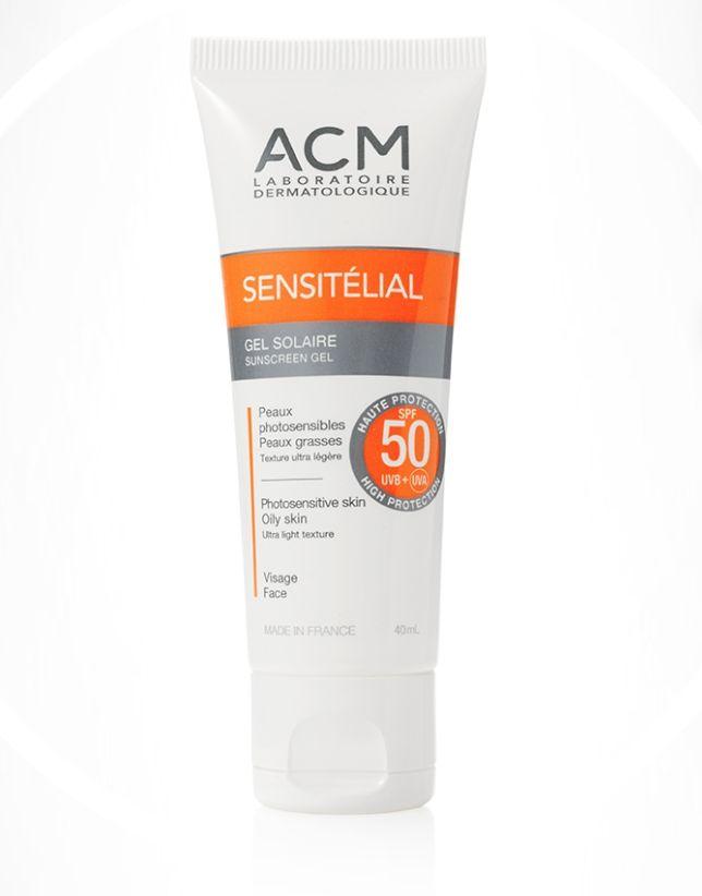 4f90119dd سعر ACM Sensitélial Sunscreen Gel SPF 50 - 40ml فى مصر   جوميا ...