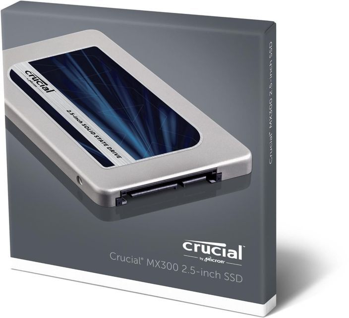 """Crucial MX300 - 275GB SATA 2.5"""" 7MM with 9.5MM Adapter Internal SSD"""