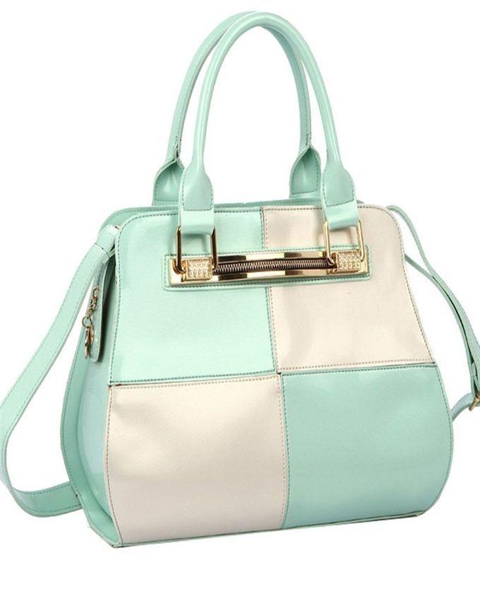 Neworldline Fashion Women Simple Style PU Leather Clutch Handbag Bag Totes Purse