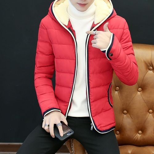 65740ef1ceeae Generic Winter Jacket Men Winter Coat Winter Men  s Cotton Slim Korean Men   S Jacket (China Size)