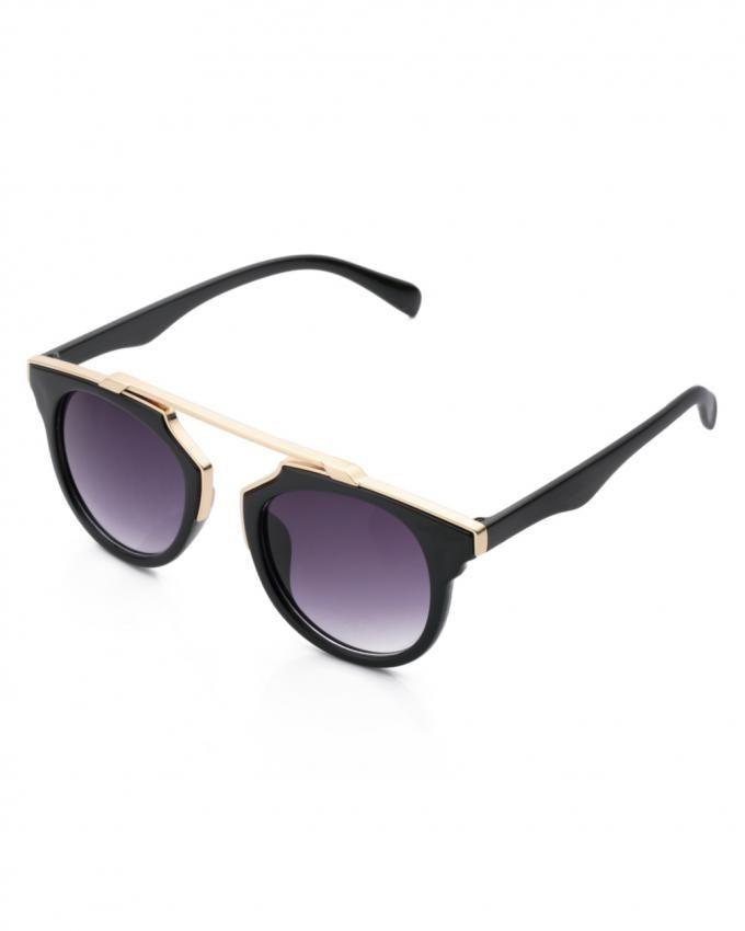 3cf01a0cd4 Buy No Brand Fashion Retro Anti-UV Outdoor Sunglasses With Metal Frame -  Color