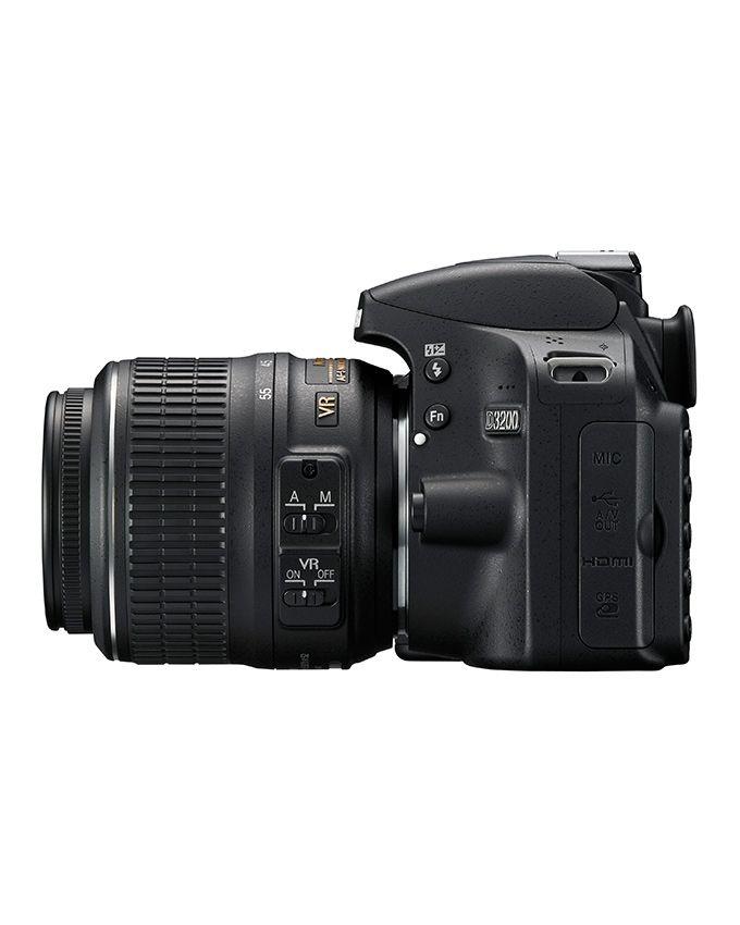 nikon d3200 dslr professional camera 18 55 mm vr lens buy online jumia egypt. Black Bedroom Furniture Sets. Home Design Ideas
