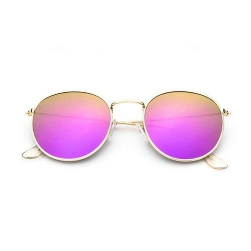 3223e5ffa7b Sanwood Retro Fashion Men Women Round Oversized Thin Frame Mirror ...