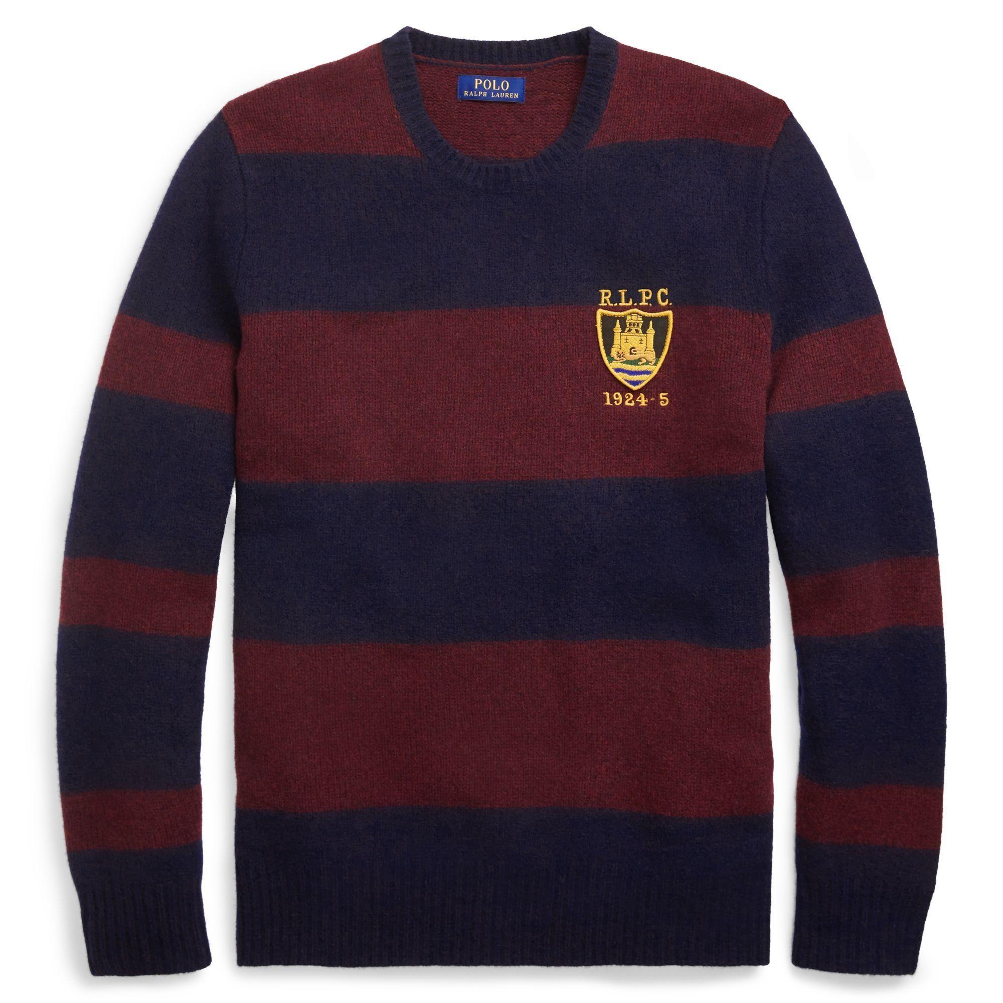 81cd3680 Polo Ralph Lauren Striped Merino Wool Sweater | Jackets & Coats ...