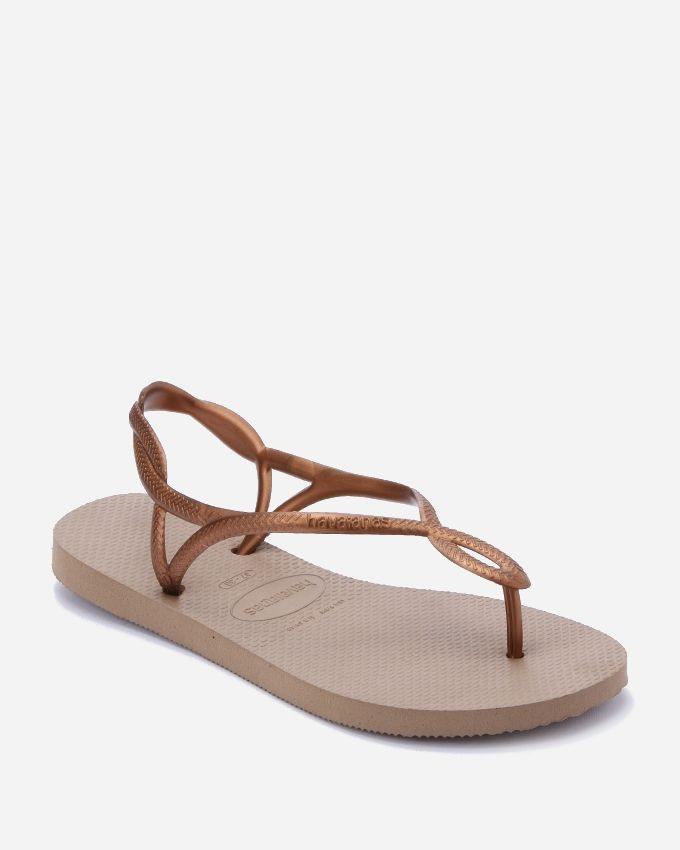 0178a06f4 Buy Havaianas Cross Back Strap Slipper - Rose Gold in Egypt