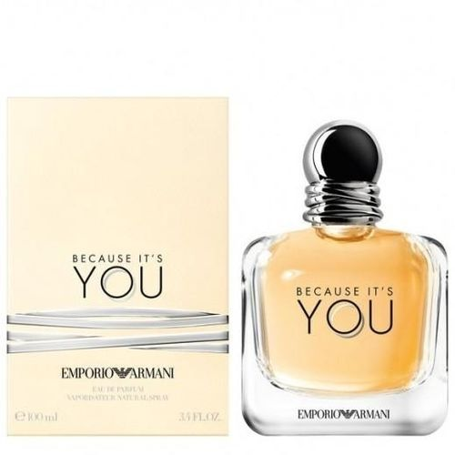 Emporio Armani Because Its You Edp For Women 100ml Price In