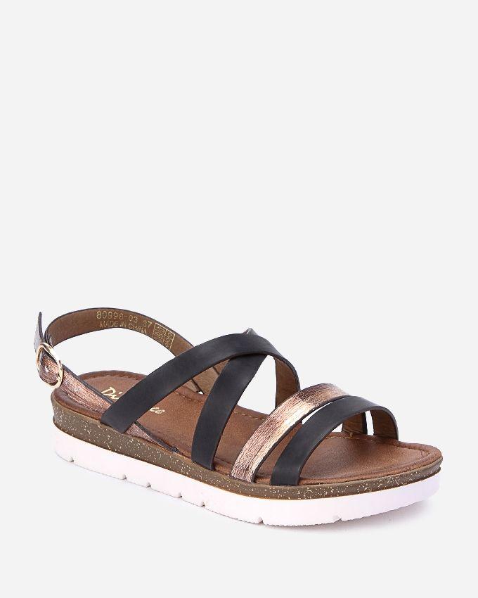 Spring Casual Sandals - Black