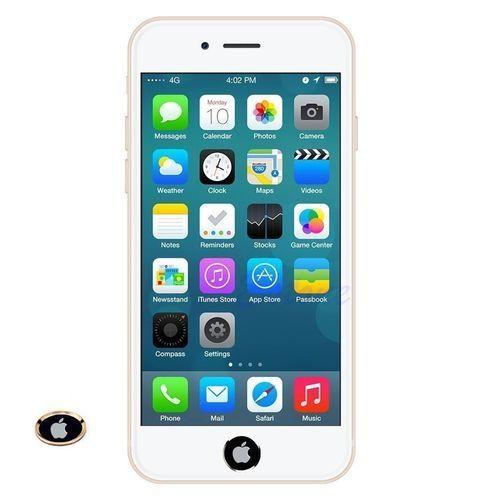 newest ca48a f17cc Generic Aluminium Fingerprint Support Touch ID Home Button Sticker ...