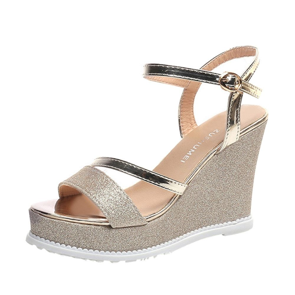 b4706ab073b Generic Tectores Fashion Trend Ladies Women Wedges Shoes Summer ...