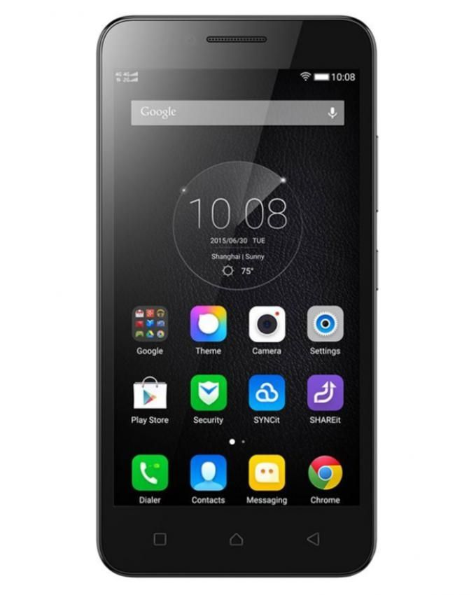 "Lenovo Vibe C (A2020) - 5.0"" - 16GB Dual SIM 4G Mobile Phone - Black + 3D Virtual Reality Glasses for iOS/Android"