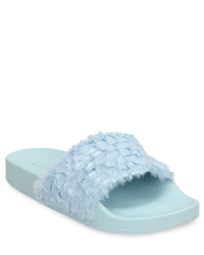 facaf8fda838 Buy Dejavu Shearling Embellished Slide in Egypt