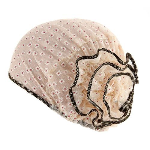 f97062c8daa Generic Tectores Fashion Trend Women Muslim Stretch Turban Hat Chemo Cap  Hair Loss Head Scarf Wrap Cap