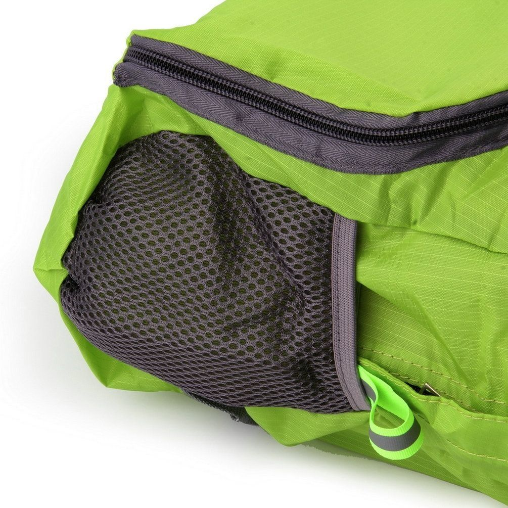 Allwin Men Women Waterproof Backpack Hiking Bag Camping Travel Rucksack  Sports Pack-Green 2a775de917bb9