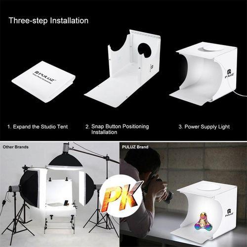 Universal Photo Studio Photography Light Portable Box Lighting Tent Kit Backdrop Mini Room  sc 1 st  Kanbkam & ??? Universal Photo Studio Photography Light Portable Box Lighting ...