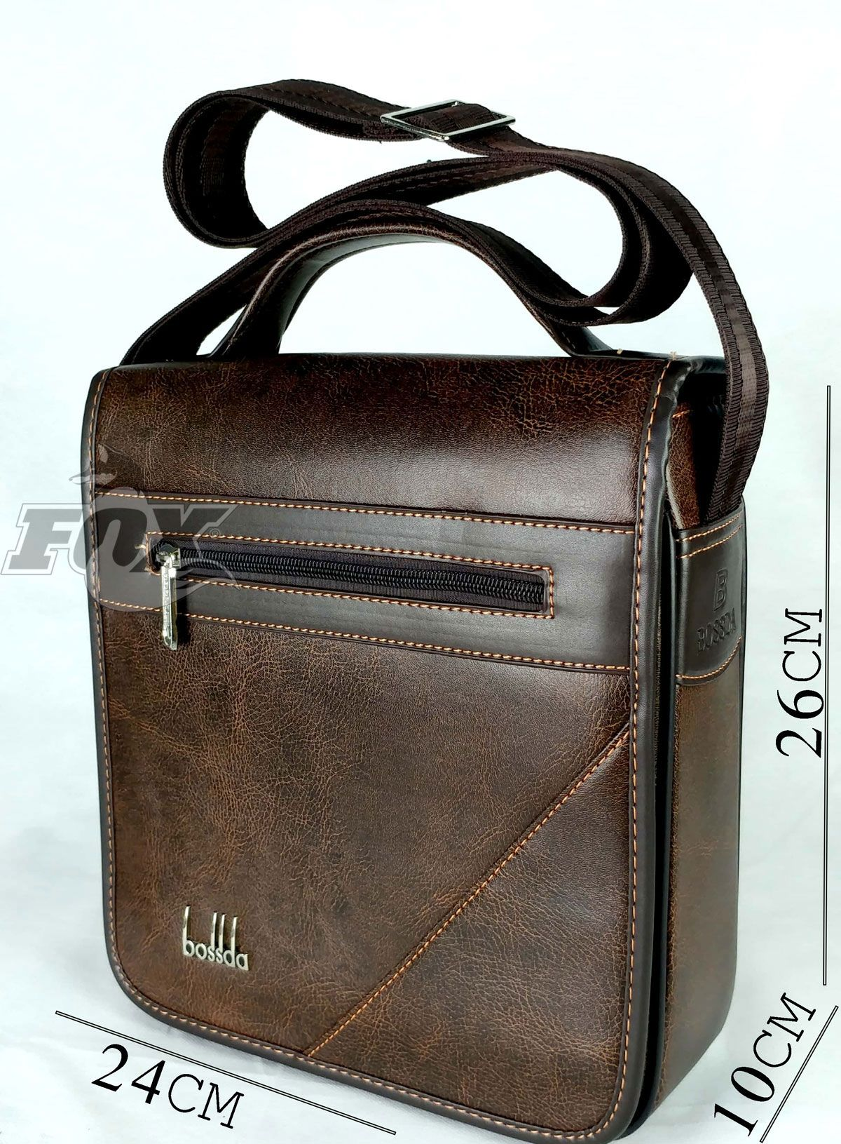 88d2c38907688 سعر A.S حقيبة كروس رجالي - بنى غامق فى مصر