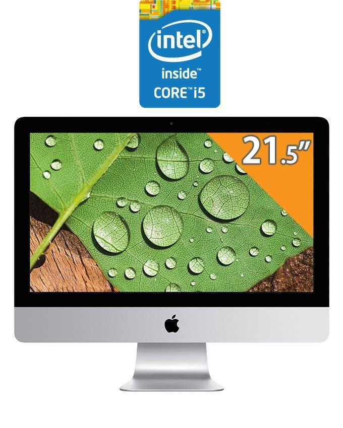 """Apple iMac 21.5"""" with Retina 4K Display - Intel Core i5 - 8GB RAM - 1TB HDD - Intel GPU - OSX"""