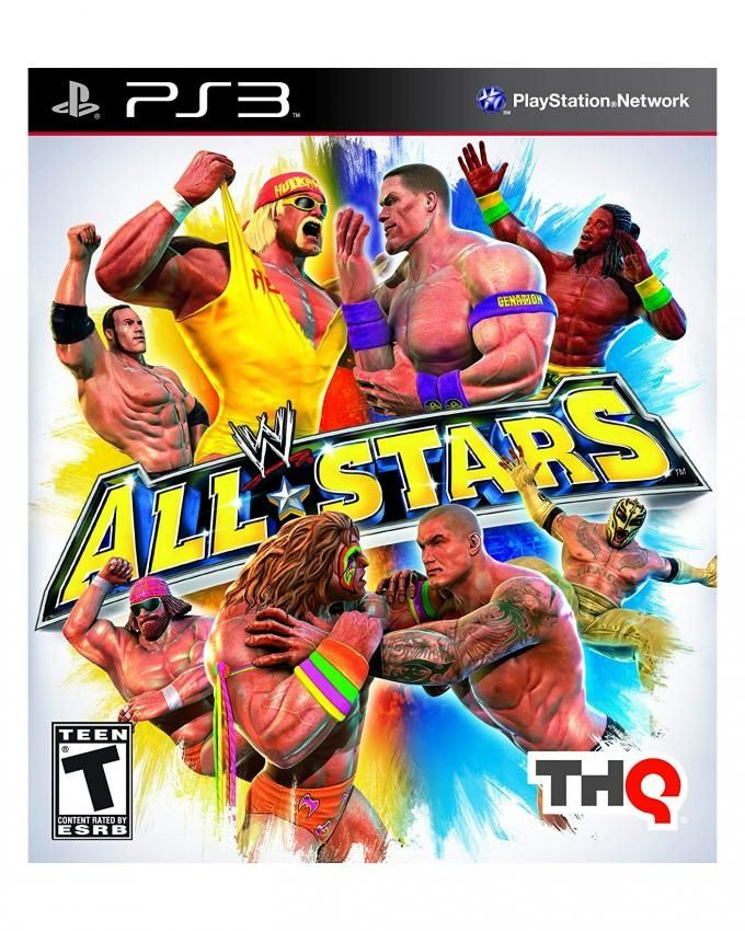 d426acce8a96 THQ WWE All Stars - Playstation 3