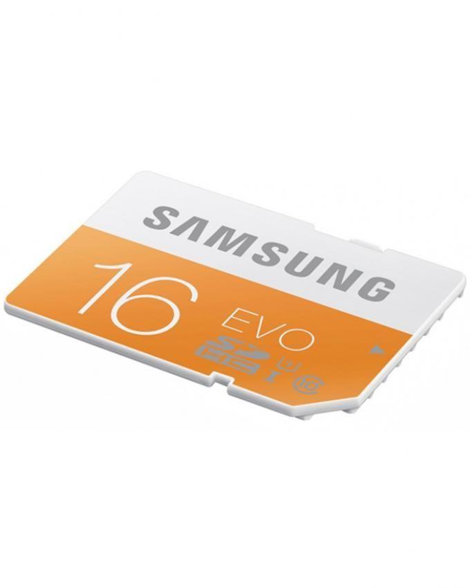 Samsung 16GB MicroSDHC EVO Memory Card - Class 10