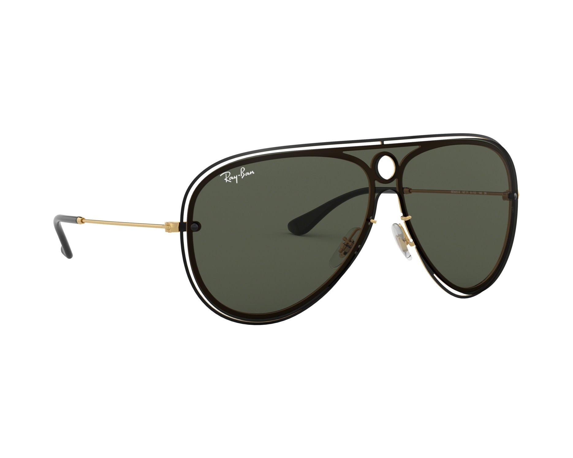 4ee728a74fba Buy Ray-Ban New Ray Ban Sunglasses 3605n 187/71 Green / Gold Aviator