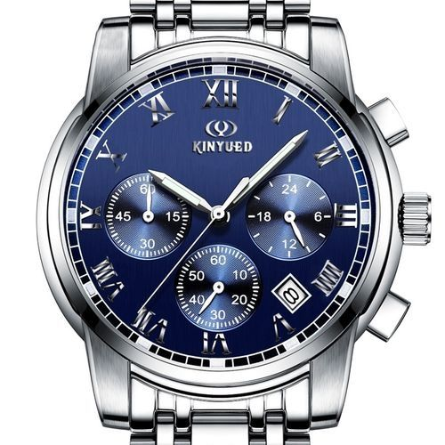 fd08ae8c679 BlueLife Men Six Pin Calendar Quartz Watch -Blue