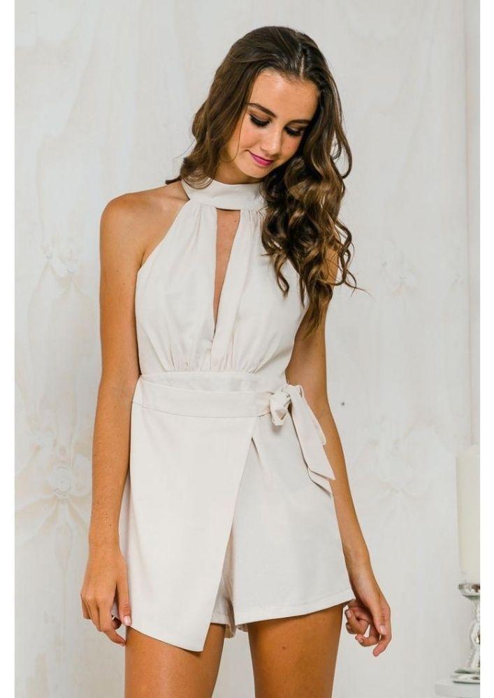 eb7e548a2e8 Fashion YOINS New Women Fashion Halter Neck Backless Wrap Layer ...