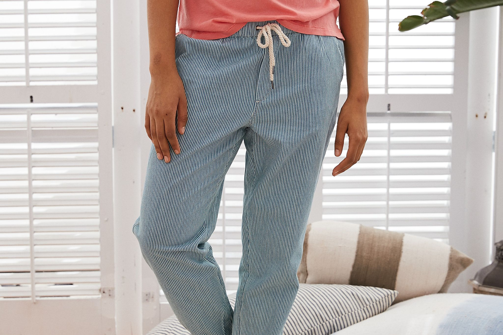 American Eagle Aerie Chambray Jogger Price In Egypt Jumia Pants