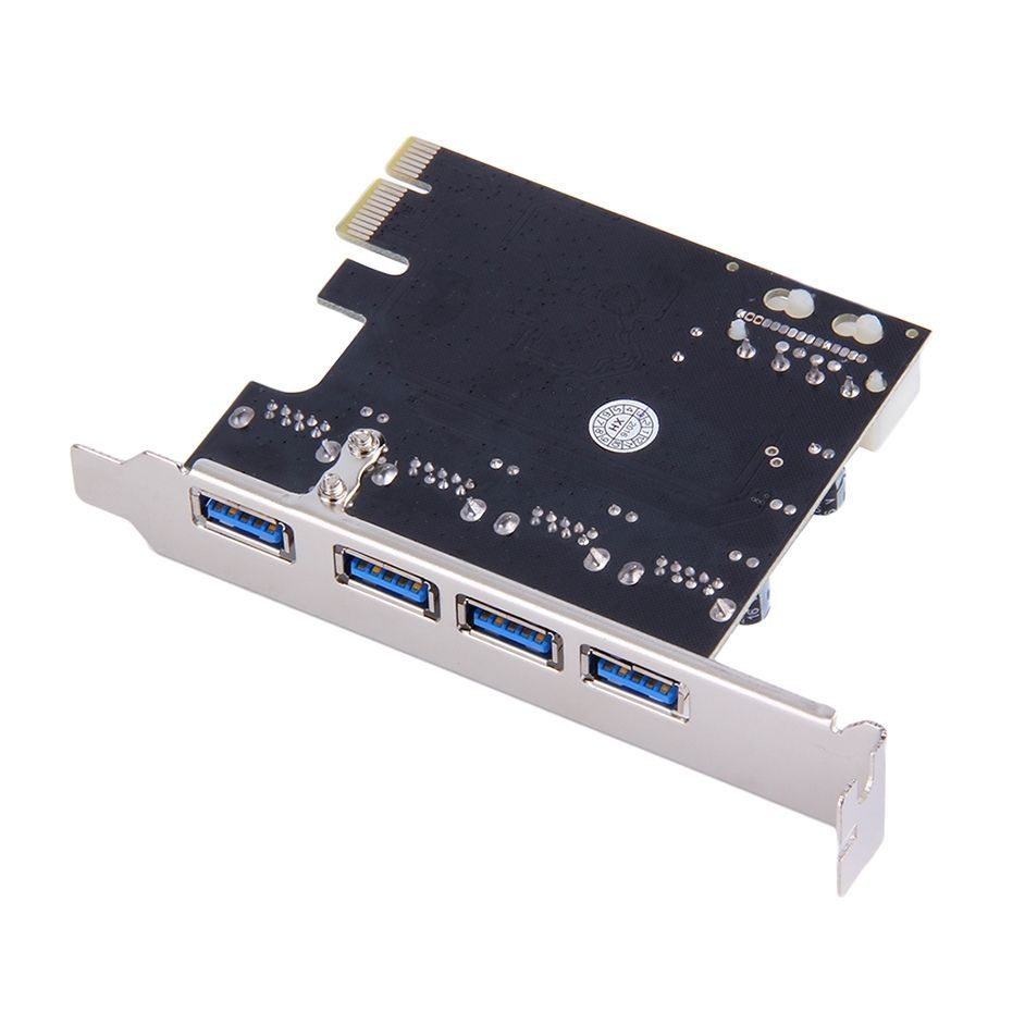 PCI-E PCI Express To USB 3.0 VIA Chip SATA Interface 4 Port Adapt Converter Card