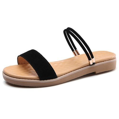 0582dbce15b468 Fashion Womens Fashion Sunmmer Sandals- Black