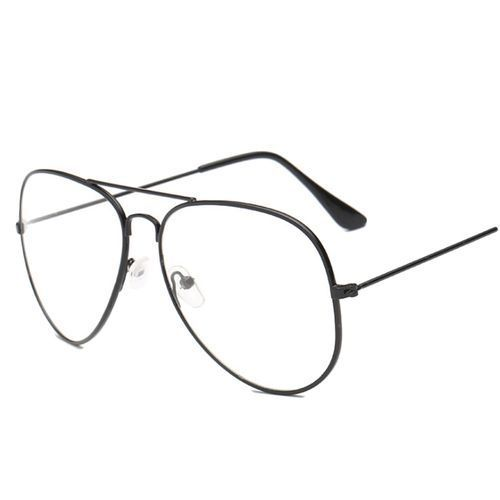 4da83a2259 Fashion Hequeen Punk Style Fashion Gold Frame Clear Glasses Myopia Clear  Frame Glasses Women Men Spectacle Frame Clear Lens Optical Punk Glass  Lunette ...