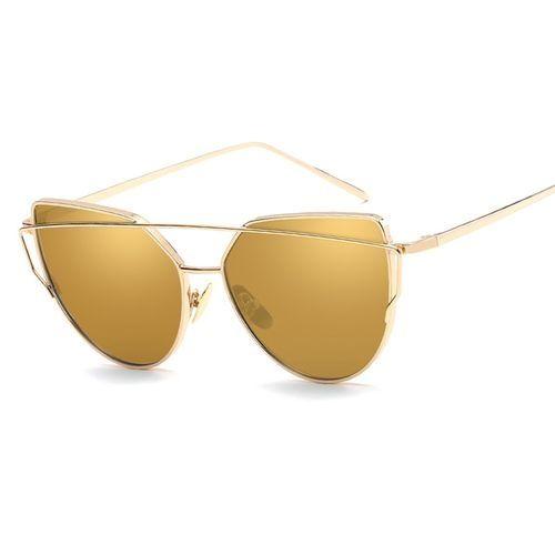 e501cc64bd4 Fashion Women Metal Anti-UV Sunglasses Color Ocean Lens Frameless ...