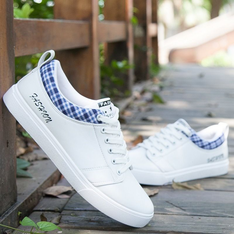 7b3c236ff Generic Men's Shoes Spring New Casual Shoes Leather Shoes Sports Shoes-white