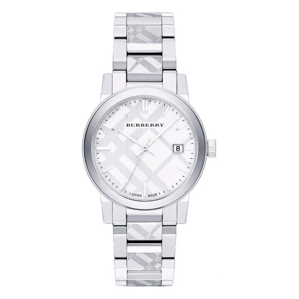 7ff3804dfdc7d سعر Burberry Women s Gold Dial Canvas Band Watch - BU10104 فى مصر ...