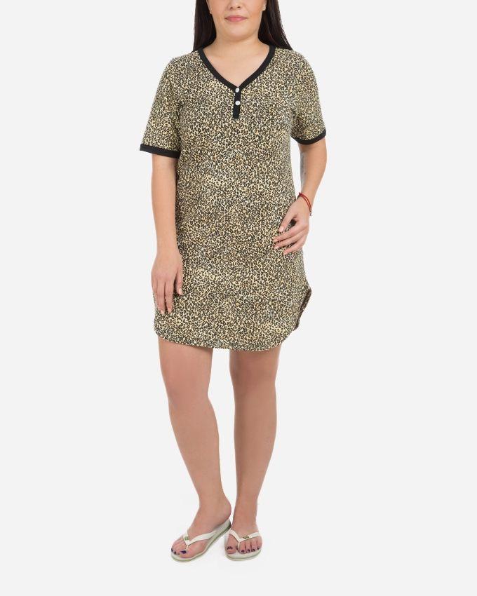 Andora Short Nightgown - Camel