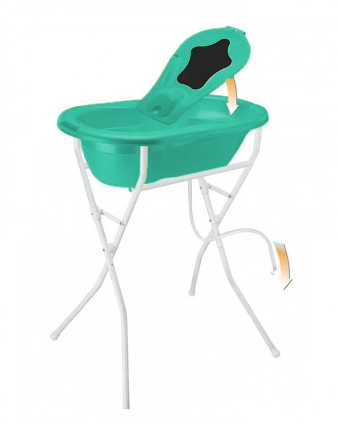Rotho Babydesign Top BathTub & Seat - Translucent Green + Foldable ...