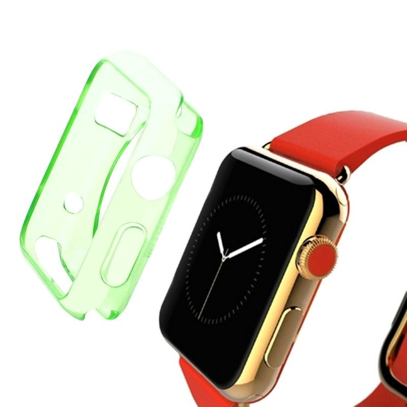 612e9776f Sunsky Haweel For Apple Watch 42mm Slim Transparent Soft Tpu Protective  Case(green). 110.00. جنية مصرى
