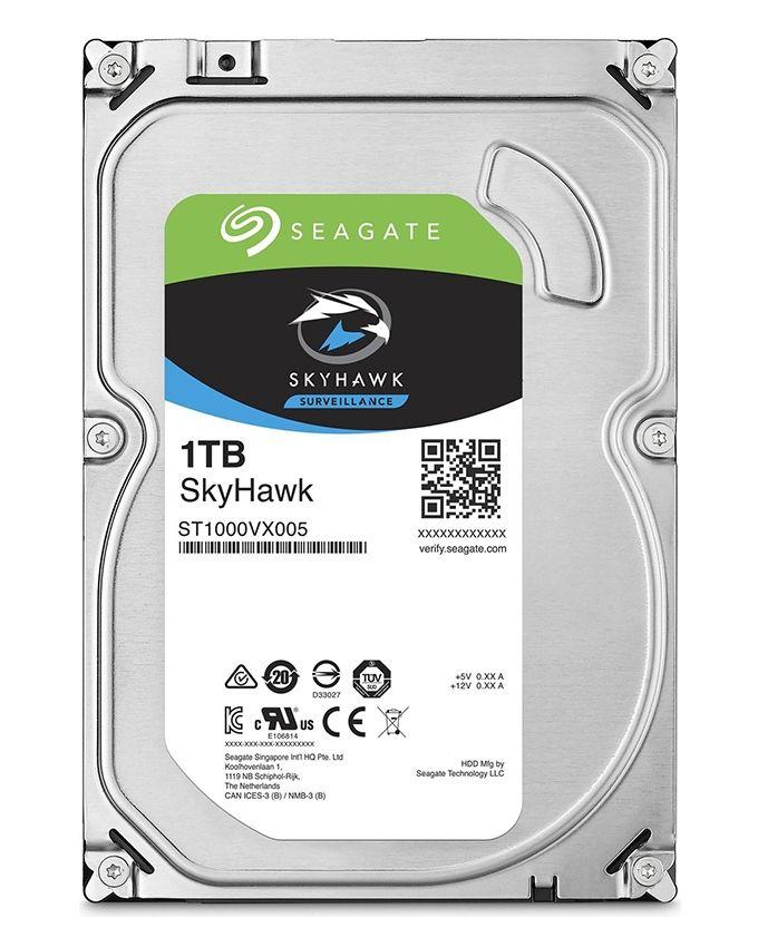 """Seagate 1TB - SkyHawk Surveillance SATA III 3.5"""" Internal Hard Disk Drive"""