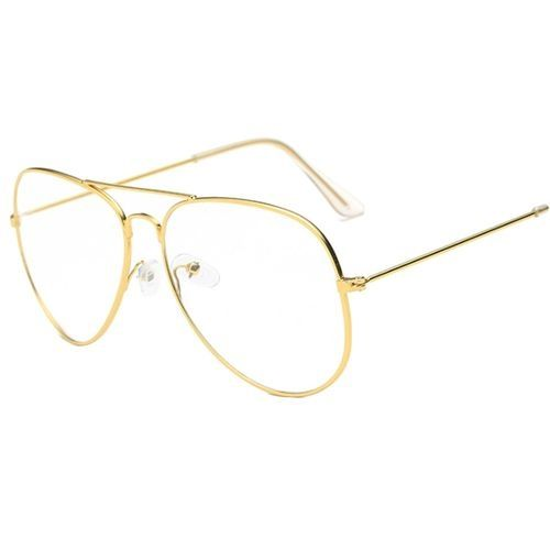 238835588e3 Fashion Punk Style Fashion Gold Frame Clear Glasses Myopia Clear Frame  Glasses Women Men Spectacle Frame Clear Lens Optical Punk Glass Lunette  Unisex ...